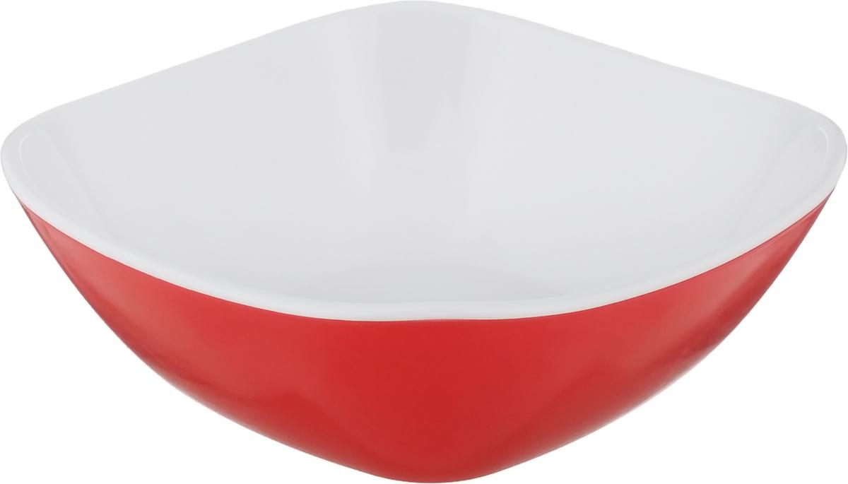 Салатник Libra Plast Кватро, цвет: красный, 270 млLP0034_красныйСалатница Libra Plast Кватро, выполненная из высококачественного материала, сочетает в себе изысканный дизайн с максимальной функциональностью. Яркие цвета позволят красиво украсить праздничный стол.