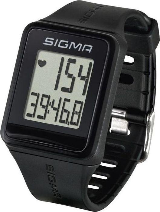 """Пульсометр Sigma """"iD.GO"""", цвет: черный"""