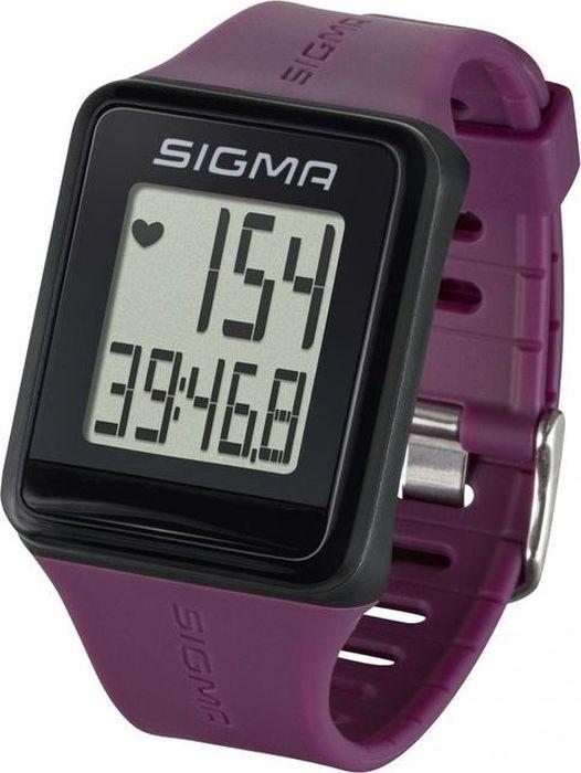 """Самый простой пульсометр Sigma """"iD.GO"""" в новом дизайне! Следите за своим пульсом ежедневно!Пульсометр Sigma Sport ID.GO, простое управление с помощью мультифункциональной клавиши, чёткий дисплей.Особенности:влагозащищенныйЭКГ-точностьбольшой экран и цифрыуправление одной кнопкойсекундомер с десятыми долями секунды и возможность его использования без надевания нагрудного датчикаФункции:ПульсЧасыСекундомер Как начать бегать: советы тренера. Статья OZON Гид"""