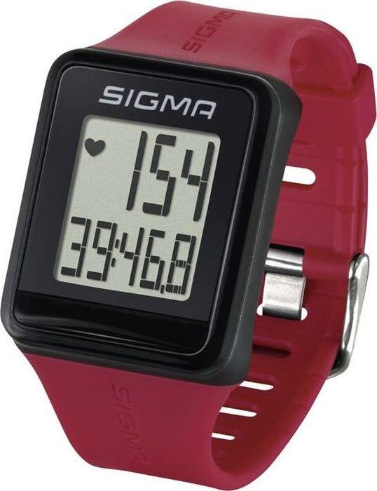 Пульсометр Sigma iD.GO, цвет: малиновыйSIG_24530Самый простой пульсометр Sigma iD.GO в новом дизайне! Следите за своим пульсом ежедневно!Пульсометр Sigma Sport ID.GO, простое управление с помощью мультифункциональной клавиши, чёткий дисплей.Особенности:влагозащищенныйЭКГ-точностьбольшой экран и цифрыуправление одной кнопкойсекундомер с десятыми долями секунды и возможность его использования без надевания нагрудного датчикаФункции:ПульсЧасыСекундомерКомплектация:Часы-пульсометр Аналоговый нагрудный передатчик + ремень к нему Как начать бегать: советы тренера. Статья OZON Гид