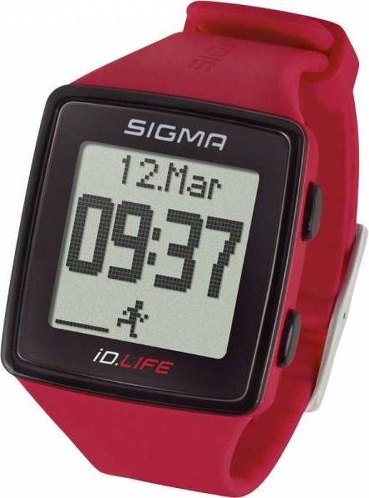 Пульсометр Sigma iD.LIFE, цвет: малиновыйSIG_24620Монитор сердечного ритма ID.LIFE сочетает в себе основные функции спортивных часов с возможностью отслеживания активности без необходимости использования приложения для смартфона.Определение пульса (не требуется использования нагрудного датчика) за счет встроенного в часы сенсора.Функции пульсометра:· Текущая частота сердечных сокращений, измеренная от запястья· Тренировочные зоны· Целевая зона тренировки· Расчет максимальной частоты сердечных сокращений· Статистика тренировок за месяц· Отслеживание активности: шаги/калории/дистанция (может быть отключено)· Вибрация· Индикатор заряда батареи· Подсветка дисплея· Минеральное стекло· Время/дата· Силиконовый ремешок· Блокировка кнопок· Текущая скорость· Общая дистанцияКак начать бегать: советы тренера. Статья OZON Гид