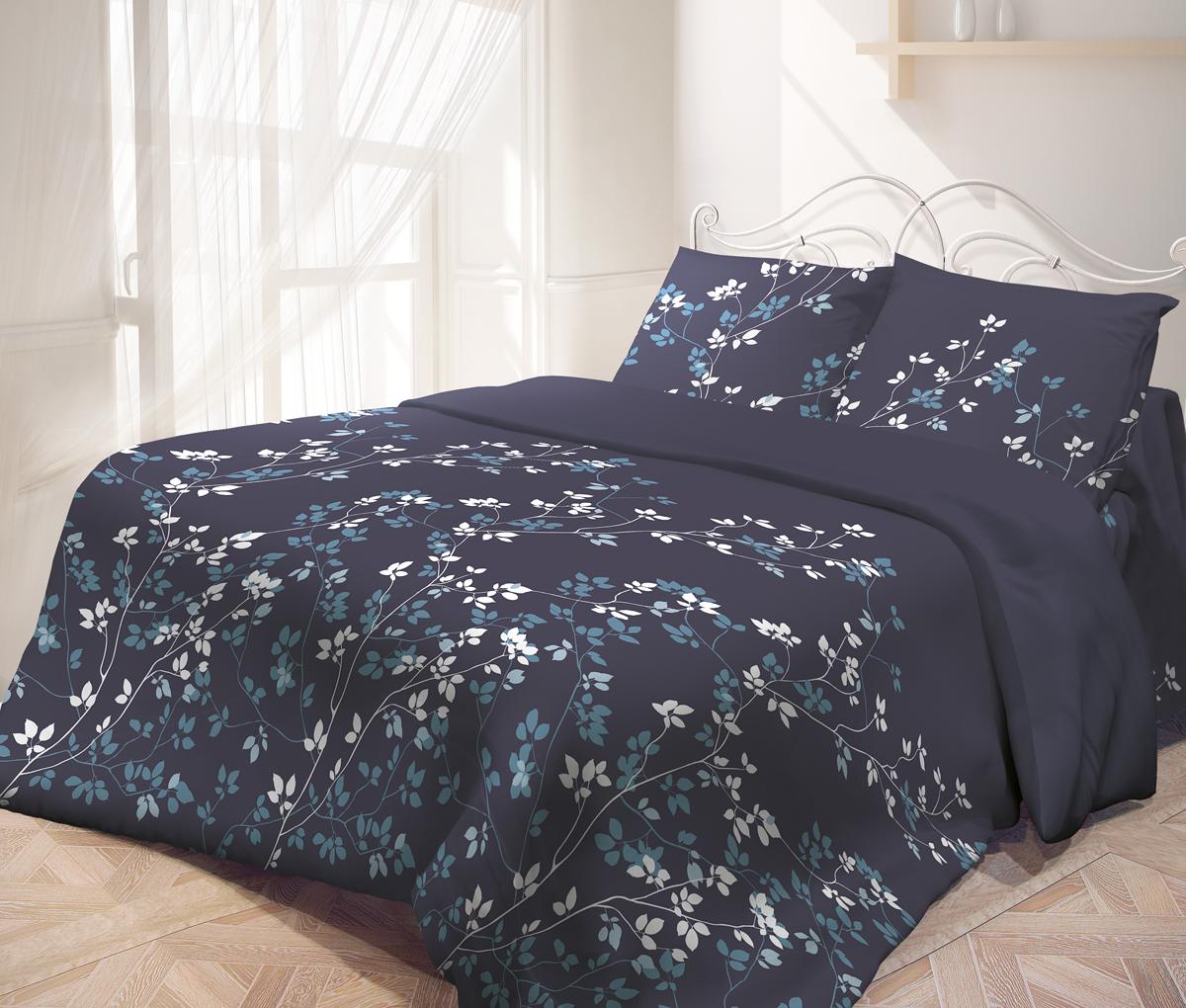 Комплект белья Самойловский текстиль Летняя ночь, семейный, наволочки 50х70714257Комплекты постельного белья Самойловский текстиль - это максимально натуральный, естественный комфорт и невероятно приятные тактильные ощущения и актуальные современные дизайны. Чрезвычайно мягкая на ощупь поверхность хлопковой ткани Cottonsoft - будто нежный и мягкий лепесток цветка. Она имеет бархатистую структуру благодаря использованию особого сырья и технологий при производстве. Неприхотливая в уходе, 100% натуральная, износостойкая, но самое главное - особенно мягкая, она безусловно понравится тем, кто любит понежиться в постели и станет отличной альтернативой традиционным комплектам из тканей полотняной структуры.