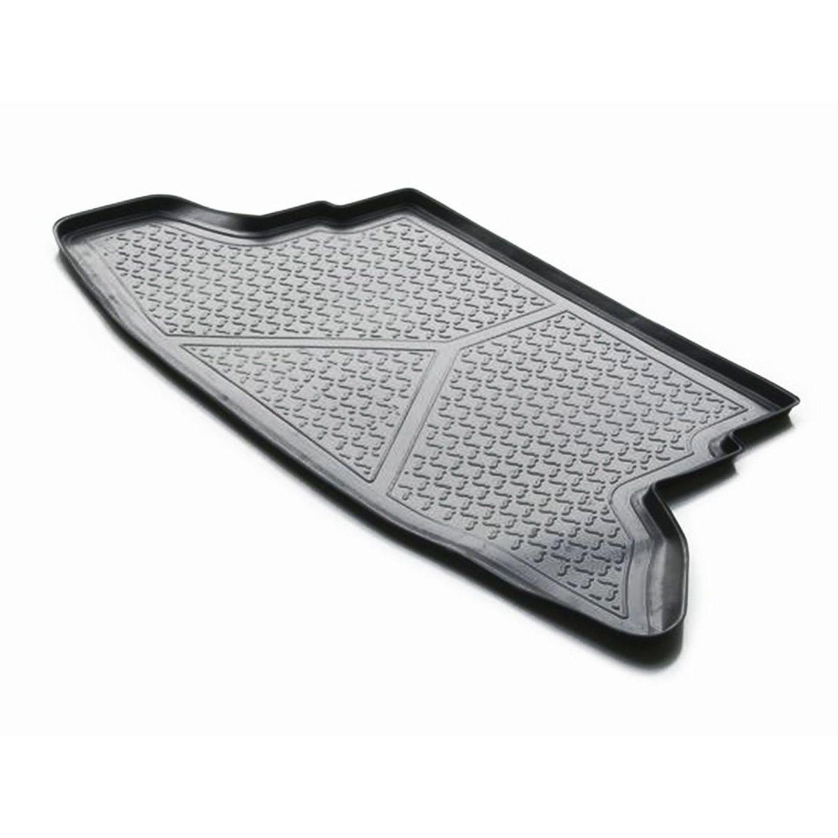 Коврик багажника Rival для Nissan Juke 2010-2014, полиуретан14102004Коврик багажника Rival позволяет надежно защитить и сохранить от грязи багажный отсек вашего автомобиля на протяжении всего срока эксплуатации, полностью повторяют геометрию багажника.- Высокий борт специальной конструкции препятствует попаданию разлившейся жидкости и грязи на внутреннюю отделку.- Произведены из первичных материалов, в результате чего отсутствует неприятный запах в салоне автомобиля.- Рисунок обеспечивает противоскользящую поверхность, благодаря которой перевозимые предметы не перекатываются в багажном отделении, а остаются на своих местах.- Высокая эластичность, можно беспрепятственно эксплуатировать при температуре от -45 ?C до +45 ?C.- Изготовлены из высококачественного и экологичного материала, не подверженного воздействию кислот, щелочей и нефтепродуктов. Уважаемые клиенты!Обращаем ваше внимание,что коврик имеет формусоответствующую модели данного автомобиля. Фото служит для визуального восприятия товара.