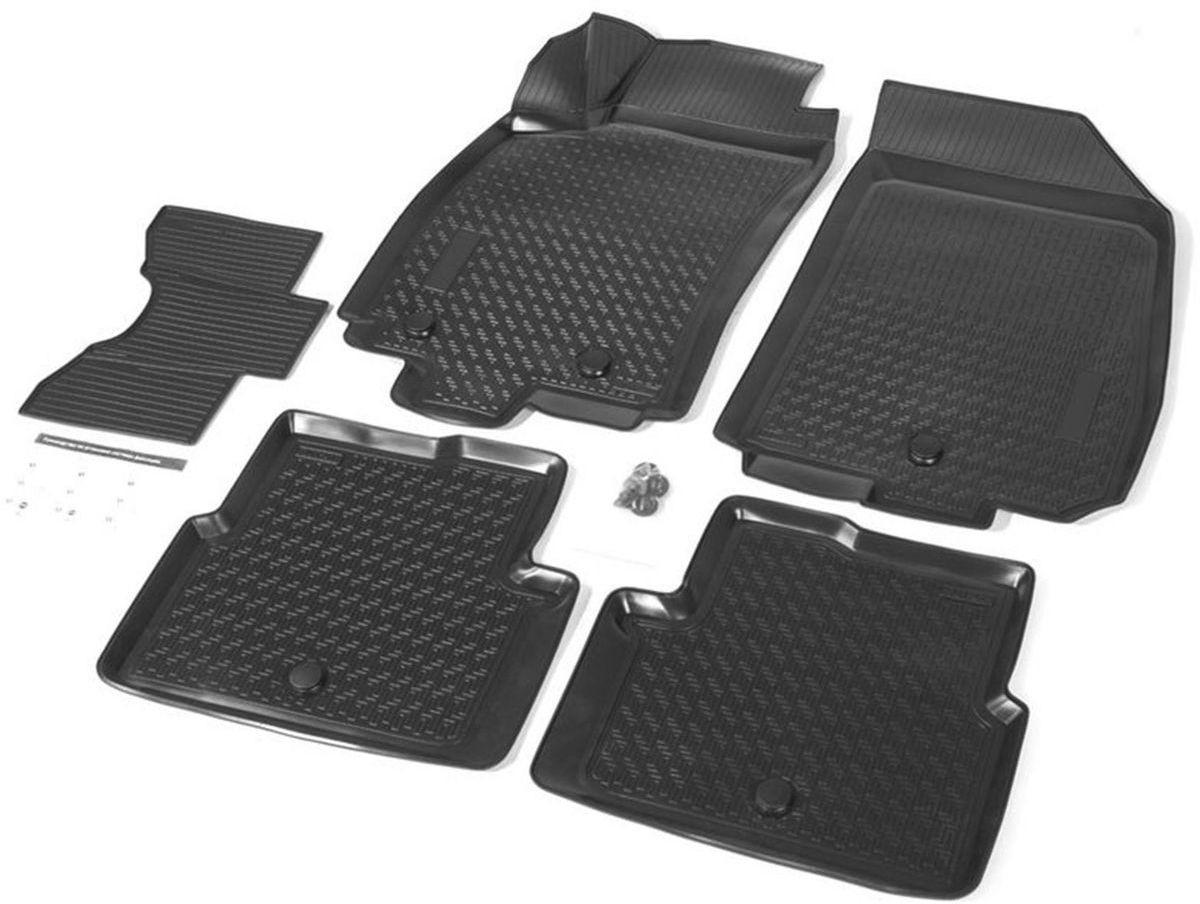 Коврики в салон Rival для Chevrolet Cobalt 2011-н.в., седан / Ravon R4 2016-н.в., с крепежом, с перемычкой, полиуритан, 5 шт. 1100200111002001Прочные и долговечные коврики Rival в салон автомобиля, изготовлены из высококачественного и экологичного сырья, полностью повторяют геометрию салона вашего автомобиля.- Надежная система крепления, позволяющая закрепить коврик на штатные элементы фиксации, в результате чего отсутствует эффект скольжения по салону автомобиля.- Высокая стойкость поверхности к стиранию.- Специализированный рисунок и высокий борт, препятствующие распространению грязи и жидкости по поверхности коврика.- Перемычка задних ковриков в комплекте предотвращает загрязнение тоннеля карданного вала.- Произведены из первичных материалов, в результате чего отсутствует неприятный запах в салоне автомобиля.- Высокая эластичность, можно беспрепятственно эксплуатировать при температуре от -45 ?C до +45 ?C.Уважаемые клиенты!Обращаем ваше внимание,что коврики имеет формусоответствующую модели данного автомобиля. Фото служит для визуального восприятия товара.