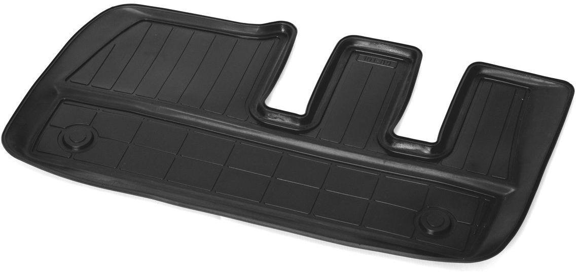 Коврик в салон Rival для Chevrolet Captiva 2011-н.в., 3-й ряд, с крепежом, полиуритан, 1 шт. 1100700211007002Прочные и долговечные коврики Rival в салон автомобиля, изготовлены из высококачественного и экологичного сырья, полностью повторяют геометрию салона вашего автомобиля.- Надежная система крепления, позволяющая закрепить коврик на штатные элементы фиксации, в результате чего отсутствует эффект скольжения по салону автомобиля.- Высокая стойкость поверхности к стиранию.- Специализированный рисунок и высокий борт, препятствующие распространению грязи и жидкости по поверхности коврика.- Перемычка задних ковриков в комплекте предотвращает загрязнение тоннеля карданного вала.- Произведены из первичных материалов, в результате чего отсутствует неприятный запах в салоне автомобиля.- Высокая эластичность, можно беспрепятственно эксплуатировать при температуре от -45 ?C до +45 ?C.Уважаемые клиенты!Обращаем ваше внимание,что коврики имеет формусоответствующую модели данного автомобиля. Фото служит для визуального восприятия товара.