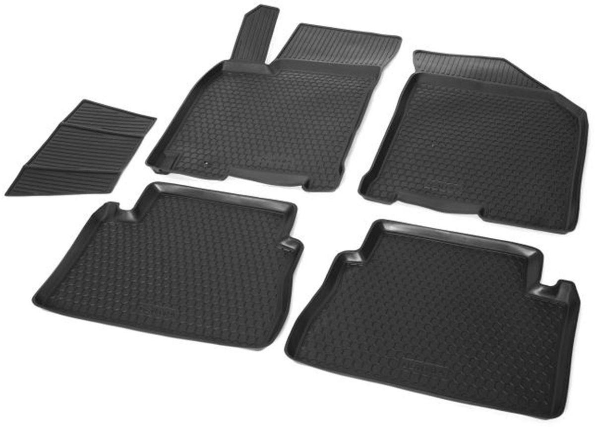 Коврики салона Rival для Daewoo Gentra 2014-/Chevrolet Lacetti (SD, HB, WAG) 2004-2013/Ravon Gentra 2015-, c перемычкой, полиуретан11301001Прочные и долговечные коврики Rival в салон автомобиля, изготовлены из высококачественного и экологичного сырья, полностью повторяют геометрию салона вашего автомобиля.- Надежная система крепления, позволяющая закрепить коврик на штатные элементы фиксации, в результате чего отсутствует эффект скольжения по салону автомобиля.- Высокая стойкость поверхности к стиранию.- Специализированный рисунок и высокий борт, препятствующие распространению грязи и жидкости по поверхности коврика.- Перемычка задних ковриков в комплекте предотвращает загрязнение тоннеля карданного вала.- Произведены из первичных материалов, в результате чего отсутствует неприятный запах в салоне автомобиля.- Высокая эластичность, можно беспрепятственно эксплуатировать при температуре от -45 ?C до +45 ?C.Уважаемые клиенты!Обращаем ваше внимание,что коврики имеет формусоответствующую модели данного автомобиля. Фото служит для визуального восприятия товара.