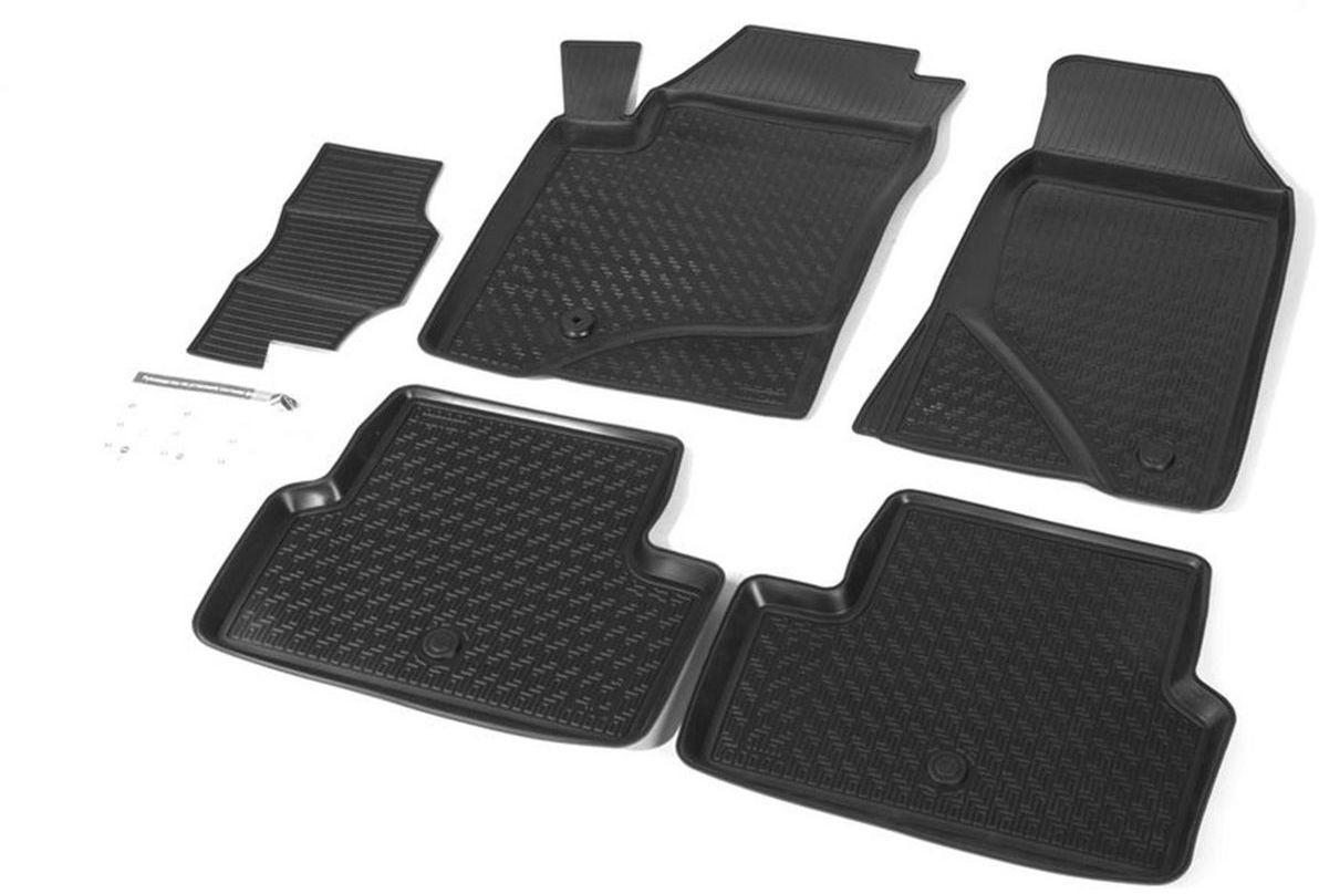 Коврики салона Rival для Ford Focus II 2004-2011, c перемычкой, полиуретан11801001Прочные и долговечные коврики Rival в салон автомобиля, изготовлены из высококачественного и экологичного сырья, полностью повторяют геометрию салона вашего автомобиля.- Надежная система крепления, позволяющая закрепить коврик на штатные элементы фиксации, в результате чего отсутствует эффект скольжения по салону автомобиля.- Высокая стойкость поверхности к стиранию.- Специализированный рисунок и высокий борт, препятствующие распространению грязи и жидкости по поверхности коврика.- Перемычка задних ковриков в комплекте предотвращает загрязнение тоннеля карданного вала.- Произведены из первичных материалов, в результате чего отсутствует неприятный запах в салоне автомобиля.- Высокая эластичность, можно беспрепятственно эксплуатировать при температуре от -45 ?C до +45 ?C.Уважаемые клиенты!Обращаем ваше внимание,что коврики имеет формусоответствующую модели данного автомобиля. Фото служит для визуального восприятия товара.