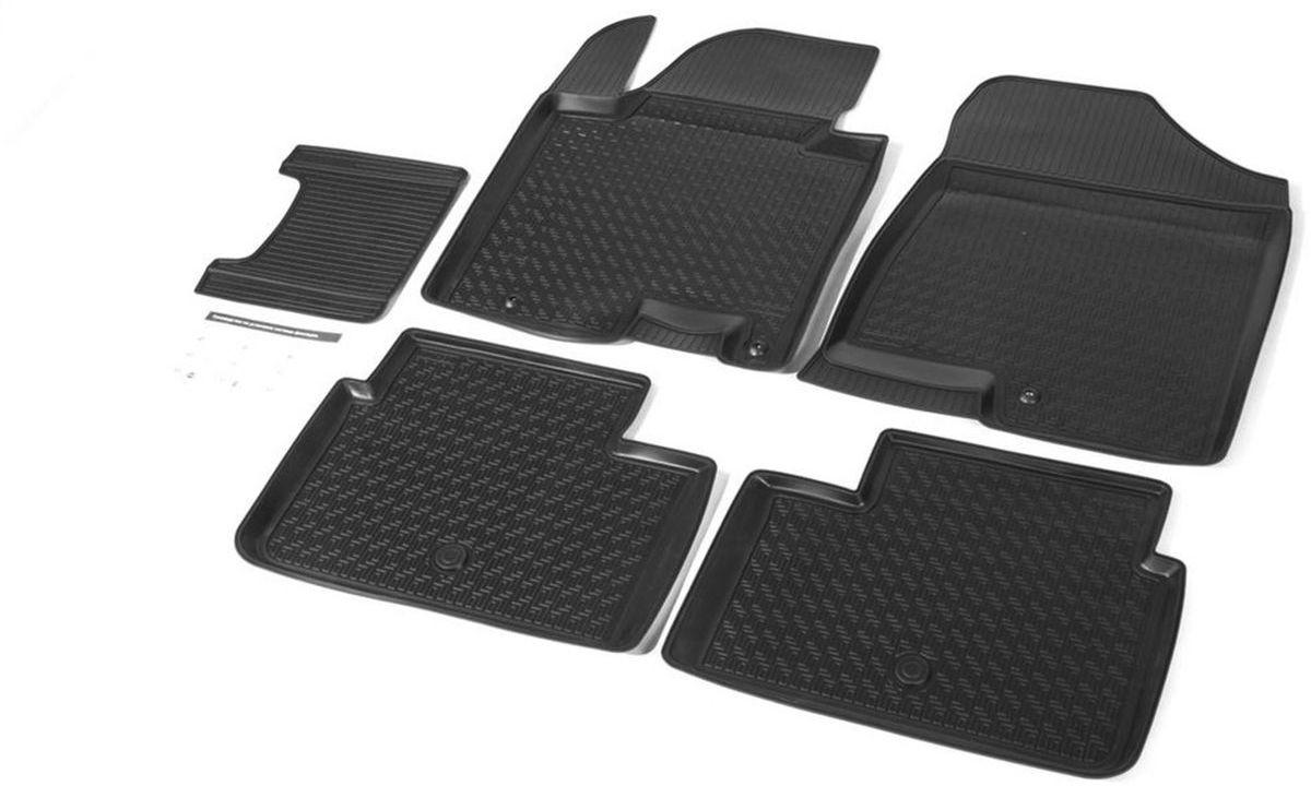 Коврики салона Rival для Kia Ceed (HB, 3D, 5D) 2012-, c перемычкой, полиуретан12801001Прочные и долговечные коврики Rival в салон автомобиля, изготовлены из высококачественного и экологичного сырья, полностью повторяют геометрию салона вашего автомобиля.- Надежная система крепления, позволяющая закрепить коврик на штатные элементы фиксации, в результате чего отсутствует эффект скольжения по салону автомобиля.- Высокая стойкость поверхности к стиранию.- Специализированный рисунок и высокий борт, препятствующие распространению грязи и жидкости по поверхности коврика.- Перемычка задних ковриков в комплекте предотвращает загрязнение тоннеля карданного вала.- Произведены из первичных материалов, в результате чего отсутствует неприятный запах в салоне автомобиля.- Высокая эластичность, можно беспрепятственно эксплуатировать при температуре от -45 ?C до +45 ?C.Уважаемые клиенты!Обращаем ваше внимание,что коврики имеет формусоответствующую модели данного автомобиля. Фото служит для визуального восприятия товара.
