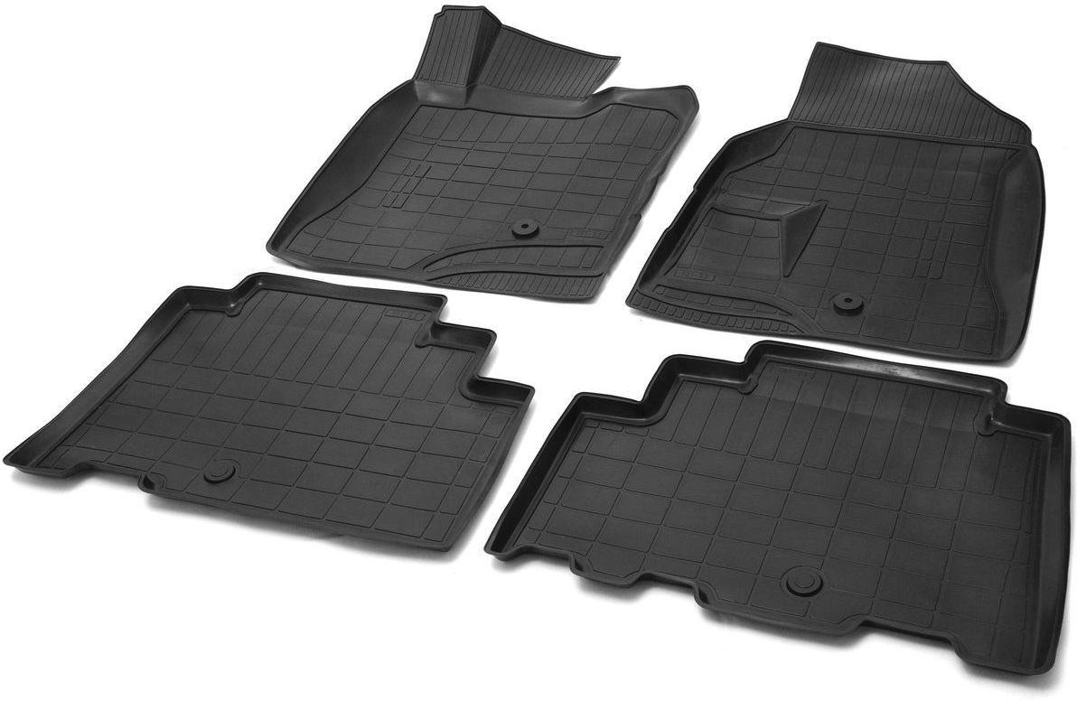 Коврики в салон Rival для Opel Antara 2011-н.в., с крепежом, полиуритан, 4 шт. 1420100114201001Прочные и долговечные коврики Rival в салон автомобиля, изготовлены из высококачественного и экологичного сырья. Коврики полностью повторяют геометрию салона вашего автомобиля.- Надежная система крепления, позволяющая закрепить коврик на штатные элементы фиксации, в результате чего отсутствует эффект скольжения по салону автомобиля.- Высокая стойкость поверхности к стиранию.- Специализированный рисунок и высокий борт, препятствующие распространению грязи и жидкости по поверхности коврика.- Перемычка задних ковриков в комплекте предотвращает загрязнение тоннеля карданного вала.- Коврики произведены из первичных материалов, в результате чего отсутствует неприятный запах в салоне автомобиля.- Высокая эластичность, можно беспрепятственно эксплуатировать при температуре от -45°C до +45°C. Уважаемые клиенты! Обращаем ваше внимание, что коврики имеют форму, соответствующую модели данного автомобиля. Фото служит для визуального восприятия товара.