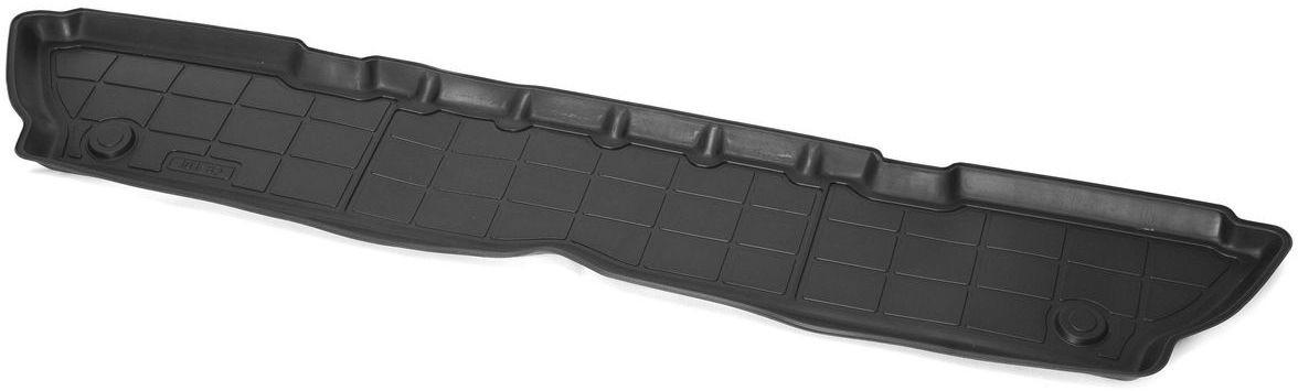 Коврик в салон Rival для Opel Zafira Tourer 2012-н.в., 3-й ряд, с крепежом, полиуритан, 1 шт. 1420700314207003Прочные и долговечные коврики Rival в салон автомобиля, изготовлены из высококачественного и экологичного сырья, полностью повторяют геометрию салона вашего автомобиля.- Надежная система крепления, позволяющая закрепить коврик на штатные элементы фиксации, в результате чего отсутствует эффект скольжения по салону автомобиля.- Высокая стойкость поверхности к стиранию.- Специализированный рисунок и высокий борт, препятствующие распространению грязи и жидкости по поверхности коврика.- Перемычка задних ковриков в комплекте предотвращает загрязнение тоннеля карданного вала.- Произведены из первичных материалов, в результате чего отсутствует неприятный запах в салоне автомобиля.- Высокая эластичность, можно беспрепятственно эксплуатировать при температуре от -45 ?C до +45 ?C.Уважаемые клиенты!Обращаем ваше внимание,что коврики имеет формусоответствующую модели данного автомобиля. Фото служит для визуального восприятия товара.