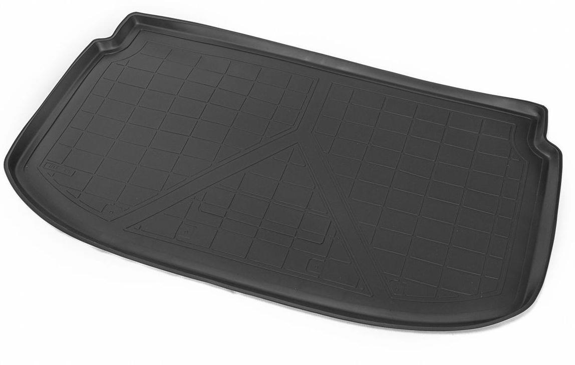 Коврик багажника Rival для Chevrolet Aveo (HB) 2011-, полиуретан11001003Коврик багажника Rival позволяет надежно защитить и сохранить от грязи багажный отсек вашего автомобиля на протяжении всего срока эксплуатации, полностью повторяют геометрию багажника.- Высокий борт специальной конструкции препятствует попаданию разлитой жидкости и грязи на внутреннюю отделку.- Произведен из первичных материалов, в результате чего отсутствует неприятный запах в салоне автомобиля.- Рисунок обеспечивает противоскользящую поверхность, благодаря которой перевозимые предметы не перекатываются в багажном отделении, а остаются на своих местах.- Высокая эластичность, можно беспрепятственно эксплуатировать при температуре от -45°C до +45°C.- Коврик изготовлен из высококачественного и экологичного материала, не подверженного воздействию кислот, щелочей и нефтепродуктов. Уважаемые клиенты! Обращаем ваше внимание, что коврик имеет форму, соответствующую модели данного автомобиля. Фото служит для визуального восприятия товара.