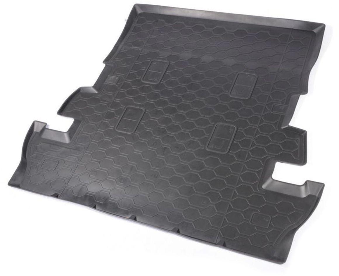 Коврик в багажник Rival для Lexus LX570 2007-н.в., 7 мест, с механическим 3 рядом / Toyota LC200 2007-н.в., 7 мест, полиуритан, 1 шт. 1570500115705001Коврик багажника Rival позволяет надежно защитить и сохранить от грязи багажный отсек вашего автомобиля на протяжении всего срока эксплуатации, полностью повторяют геометрию багажника.- Высокий борт специальной конструкции препятствует попаданию разлитой жидкости и грязи на внутреннюю отделку.- Произведен из первичных материалов, в результате чего отсутствует неприятный запах в салоне автомобиля.- Рисунок обеспечивает противоскользящую поверхность, благодаря которой перевозимые предметы не перекатываются в багажном отделении, а остаются на своих местах.- Высокая эластичность, можно беспрепятственно эксплуатировать при температуре от -45°C до +45°C.- Коврик изготовлен из высококачественного и экологичного материала, не подверженного воздействию кислот, щелочей и нефтепродуктов. Уважаемые клиенты! Обращаем ваше внимание, что коврик имеет форму, соответствующую модели данного автомобиля. Фото служит для визуального восприятия товара.