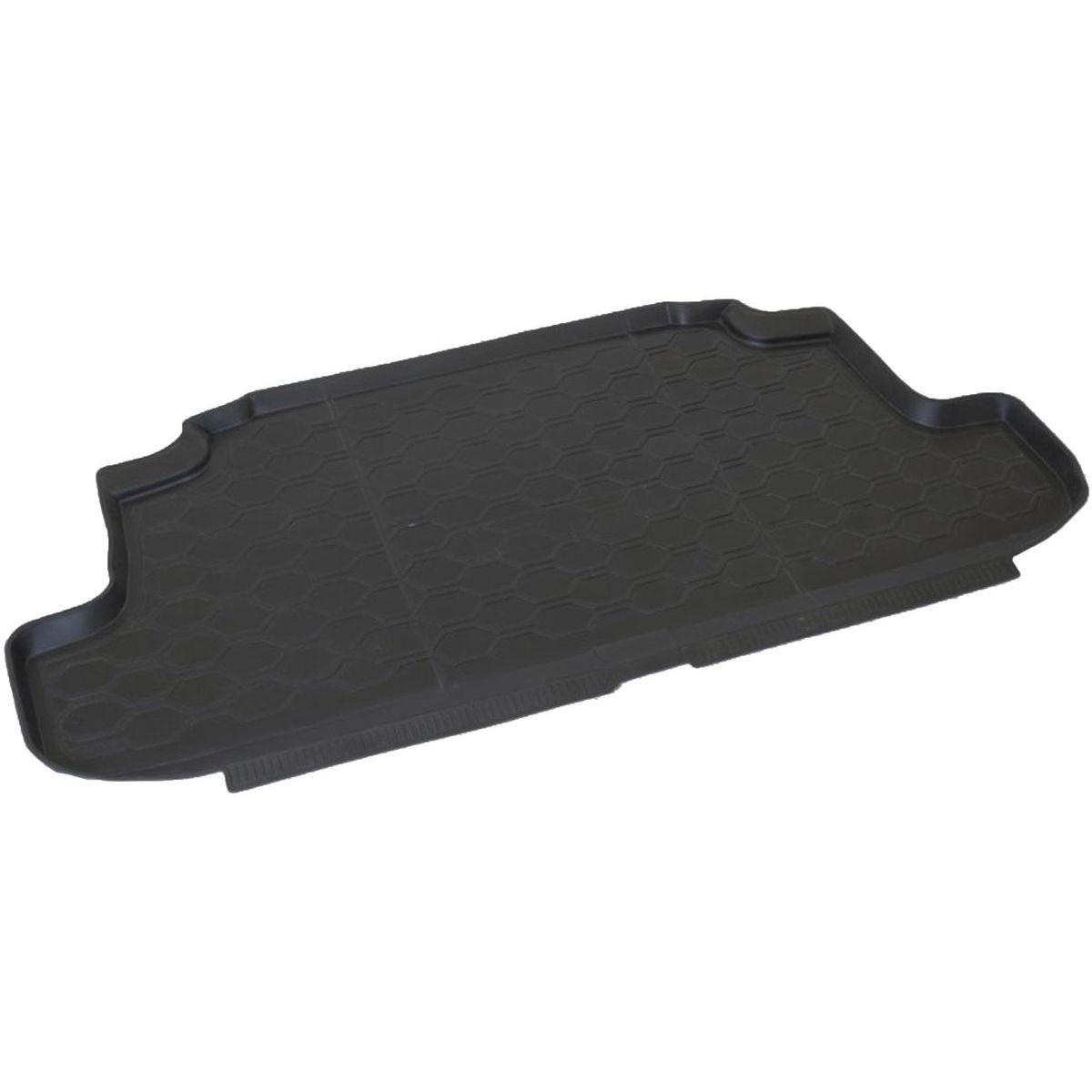 Коврик в багажник Rival для Lada 4x4 2009-н.в., 3-двери, полиуритан, 1 шт. 1600500116005001Коврик багажника Rival позволяет надежно защитить и сохранить от грязи багажный отсек вашего автомобиля на протяжении всего срока эксплуатации, полностью повторяют геометрию багажника. - Высокий борт специальной конструкции препятствует попаданию разлившейся жидкости и грязи на внутреннюю отделку. - Произведены из первичных материалов, в результате чего отсутствует неприятный запах в салоне автомобиля. - Рисунок обеспечивает противоскользящую поверхность, благодаря которой перевозимые предметы не перекатываются в багажном отделении, а остаются на своих местах. - Высокая эластичность, можно беспрепятственно эксплуатировать при температуре от -45°С до +45°С.- Изготовлены из высококачественного и экологичного материала, не подверженного воздействию кислот, щелочей и нефтепродуктов. Уважаемые клиенты! Обращаем ваше внимание, что коврик имеет форму, соответствующую модели данного автомобиля. Фото служит для визуального восприятия товара.