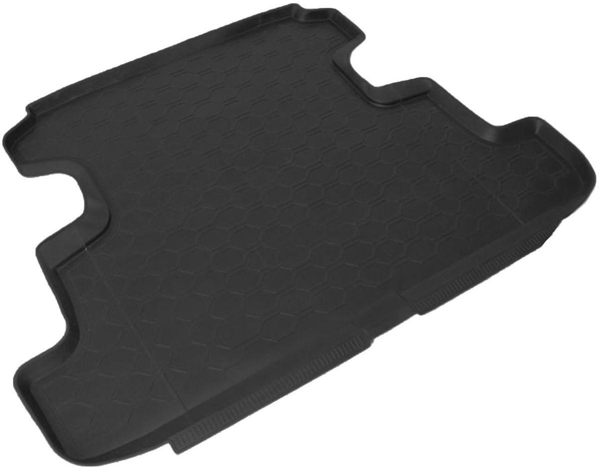 Коврик в багажник Rival для Lada 4x4 2009-н.в., 5-дверей, полиуритан, 1 шт. 1600500216005002Коврик багажника Rival позволяет надежно защитить и сохранить от грязи багажный отсек вашего автомобиля на протяжении всего срока эксплуатации, полностью повторяют геометрию багажника. - Высокий борт специальной конструкции препятствует попаданию разлившейся жидкости и грязи на внутреннюю отделку. - Произведены из первичных материалов, в результате чего отсутствует неприятный запах в салоне автомобиля. - Рисунок обеспечивает противоскользящую поверхность, благодаря которой перевозимые предметы не перекатываются в багажном отделении, а остаются на своих местах. - Высокая эластичность, можно беспрепятственно эксплуатировать при температуре от -45°С до +45°С.- Изготовлены из высококачественного и экологичного материала, не подверженного воздействию кислот, щелочей и нефтепродуктов. Уважаемые клиенты! Обращаем ваше внимание, что коврик имеет форму, соответствующую модели данного автомобиля. Фото служит для визуального восприятия товара.
