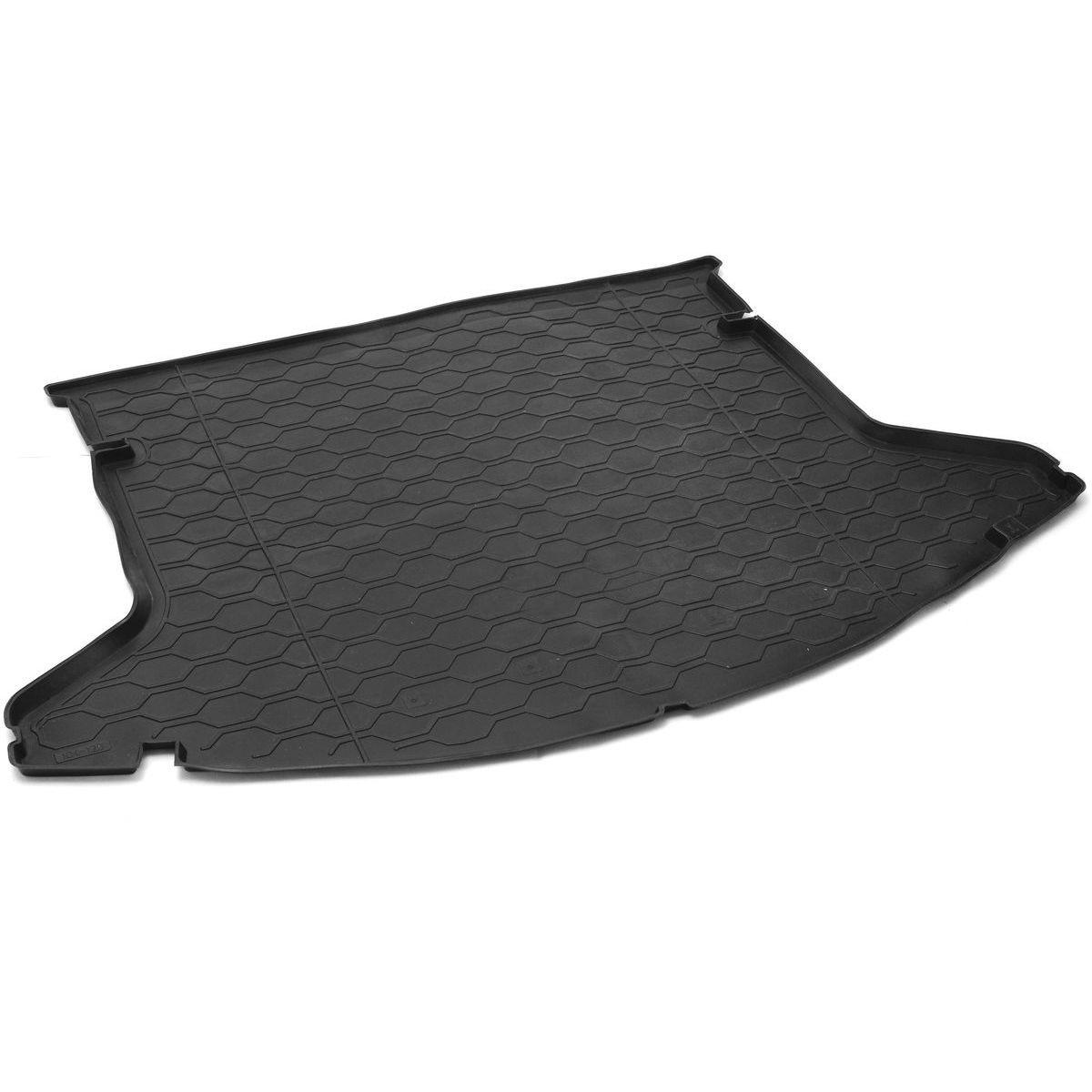 Коврик в багажник Rival для Mazda CX-5 2017-н.в., полиуритан, 1 шт. 1380300513803005Автомобильный коврик багажника RivalКоврик багажника позволяет надежно защитить и сохранить от грязи багажный отсек вашего автомобиля на протяжении всего срока эксплуатации, полностью повторяют геометрию багажника.- Высокий борт специальной конструкции препятствует попаданию разлившейся жидкости и грязи на внутреннюю отделку.- Произведены из первичных материалов, в результате чего отсутствует неприятный запах в салоне автомобиля.- Рисунок обеспечивает противоскользящую поверхность, благодаря которой перевозимые предметы не перекатываются в багажном отделении, а остаются на своих местах.- Высокая эластичность, можно беспрепятственно эксплуатировать при температуре от -45 ?C до +45 ?C.- Изготовлены из высококачественного и экологичного материала, не подверженного воздействию кислот, щелочей и нефтепродуктов. Уважаемые клиенты!Обращаем ваше внимание, что коврик имеет форму соответствующую модели данного автомобиля. Фото служит для визуального восприятия товара.