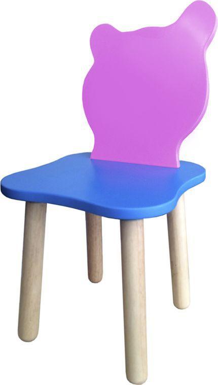 Крошка.RU Джери Стул детский цвет розовый голубой -  Детская комната