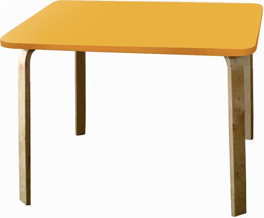 Крошка.RU Мордочки Стол детский цвет оранжевый33660Стол из одноименной детской серии мебели Мордочки сделан из МДФ высокой плотности, фанера груглолинейная, краска НЦ. Стол является прекрасным дополнением к стульчикам, создавая неповторимы образ.