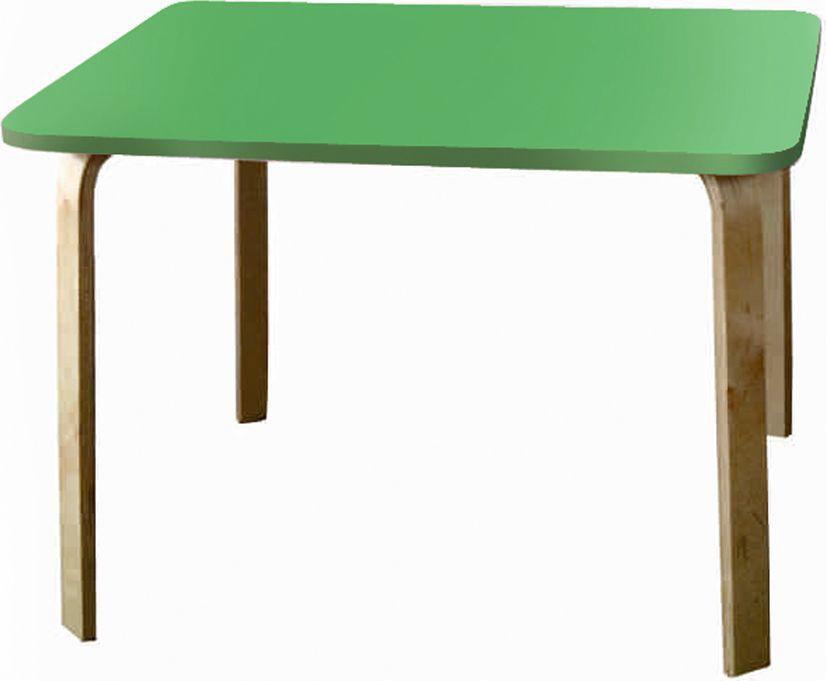 Крошка.RU Мордочки Стол детский цвет зеленый -  Детская комната