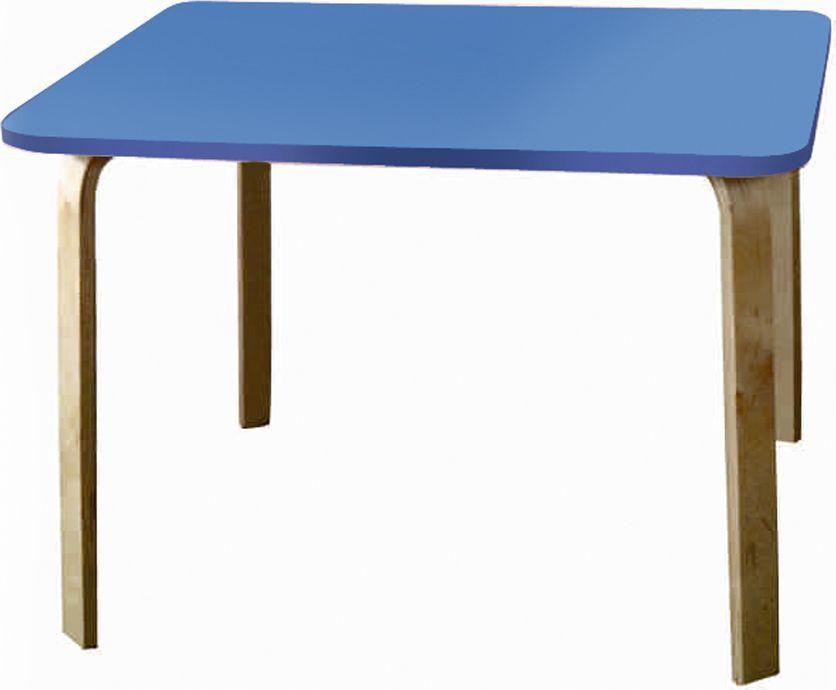 Крошка.RU Мордочки Стол детский цвет голубой33662Стол из одноименной детской серии мебели Мордочки сделан из МДФ высокой плотности, фанера груглолинейная, краска НЦ. Стол является прекрасным дополнением к стульчикам, создавая неповторимы образ.