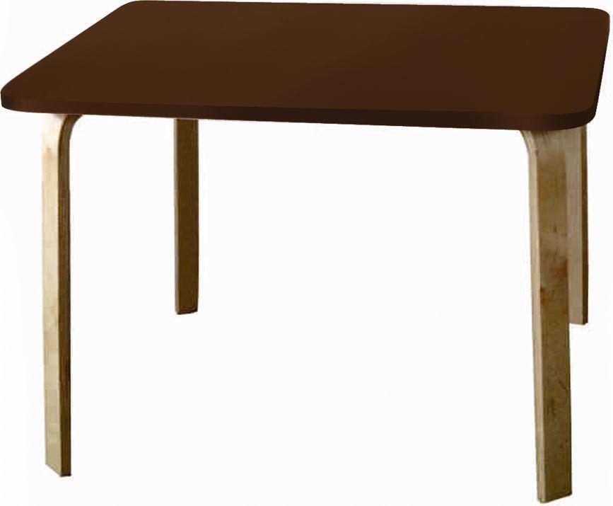 Крошка.RU Мордочки Стол детский цвет коричневый33665Стол из одноименной детской серии мебели Мордочки сделан из МДФ высокой плотности, фанера груглолинейная, краска НЦ. Стол является прекрасным дополнением к стульчикам, создавая неповторимы образ.