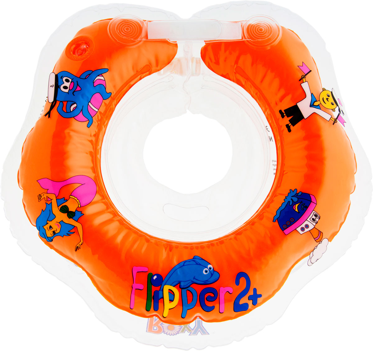 ROXY-KIDS Круг на шею для купания малышей Flipper 2+ roxi kids fl002 круг на шею для купания малышей