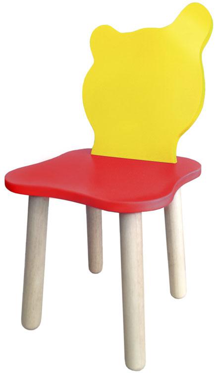 Крошка.RU Джери Стул детский цвет красный желтый25867Стул Красно-желтый серии детской мебели Джери выполнен из двух материалов. Спинка стульчика и сиденье - МДФ высокой плотной. Ножки стульчика выполнены из массива дерева березы, что делает стульчик более экологичным. Подходит для детей от 1,5 до 6 лет.