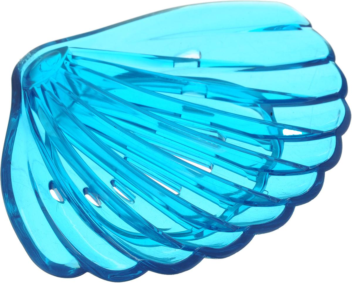 Мыльница Libra Plast Ракушка, цвет: синий. LP0047 механизм сливной alca plast a08