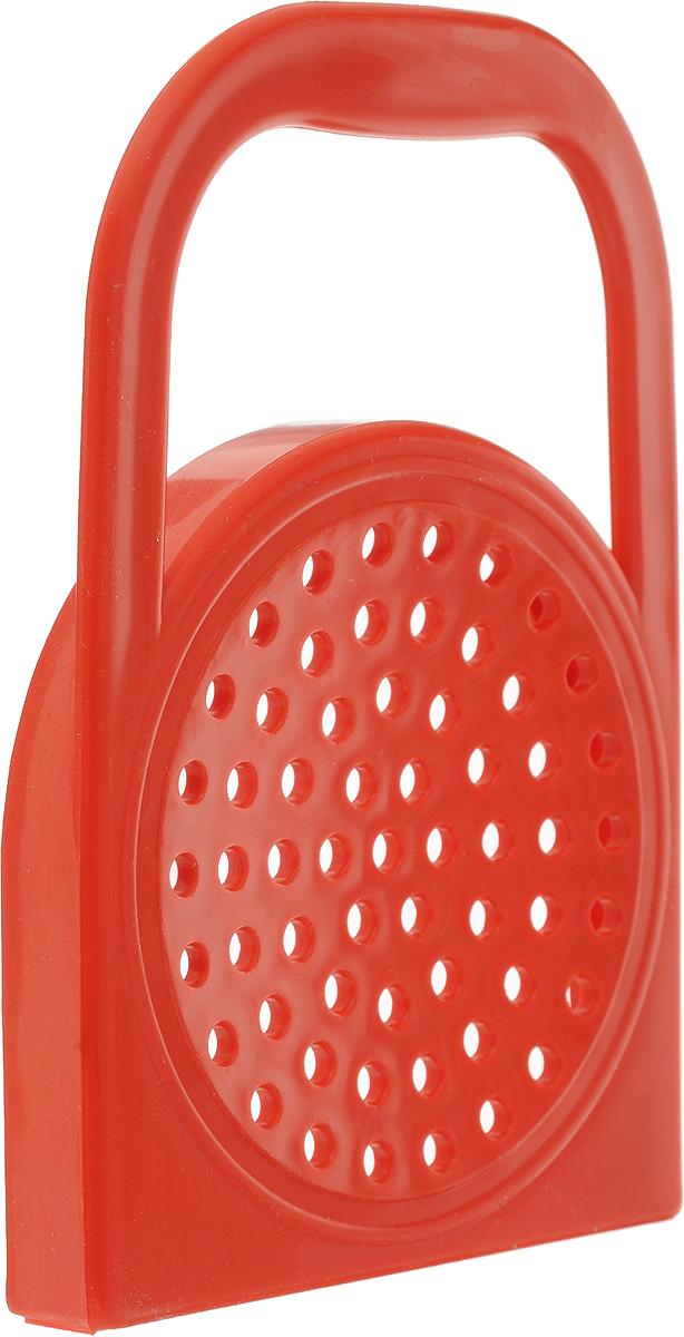 """Крышка для слива жидкости из банки """"Libra Plast"""" выполнена из пластика и имеет удобную ручку.  С помощью этого простого приспособления легко слить жидкость с консервированных ягод, фруктов, а также консервов из овощей. Применение: крышку надеть на горлышко банки, банку держать под наклоном, пока не сольется жидкость. Используется для стеклянных банок диаметром до 7,5 см."""