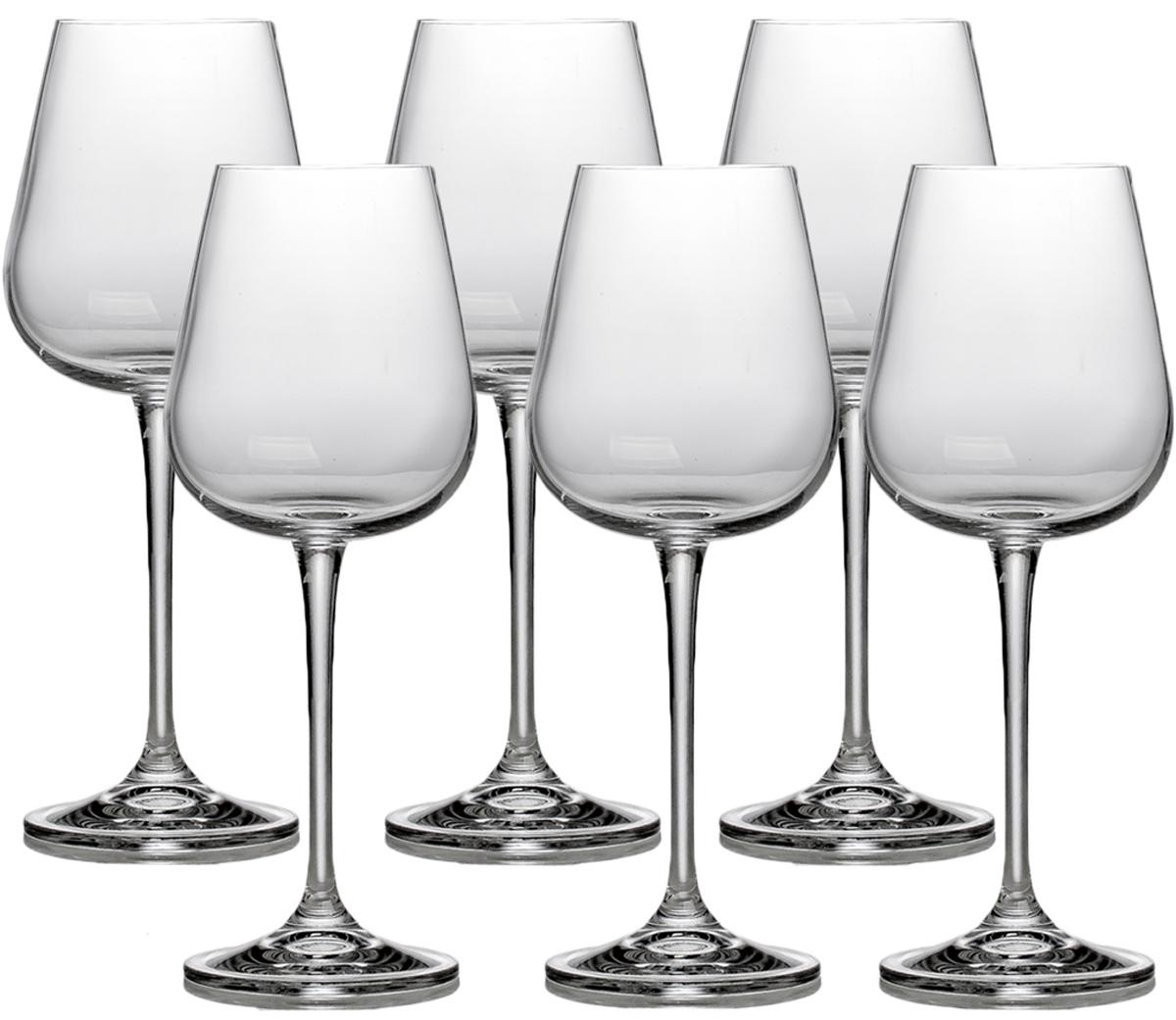 Набор бокалов для вина Crystalite Bohemia Амундсен, 330 мл, 6 шт1SF57`330Современная форма чаши, высокая нога.Бокалы из богемского стекла - это высокое качество,неповторимый бриллиантовый блекс, легкость и прозрачность, естественный планый силуэт. Выдувное хрустальное стекло с добавлением окиси титана. Дополнительный обжиг края.