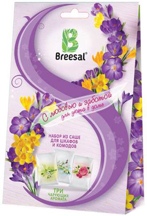 Набор средний подарочный Breesal 8М: саше для шкафов и комодов, 3 шт8M_B_001