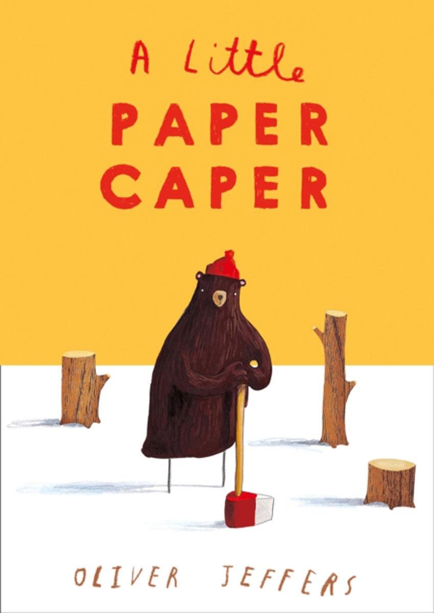 A Little Paper Caper nina stefanovich tale about littleworm book for kids