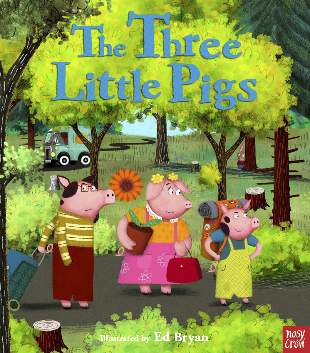 The Three Little Pigs the big bad wolf