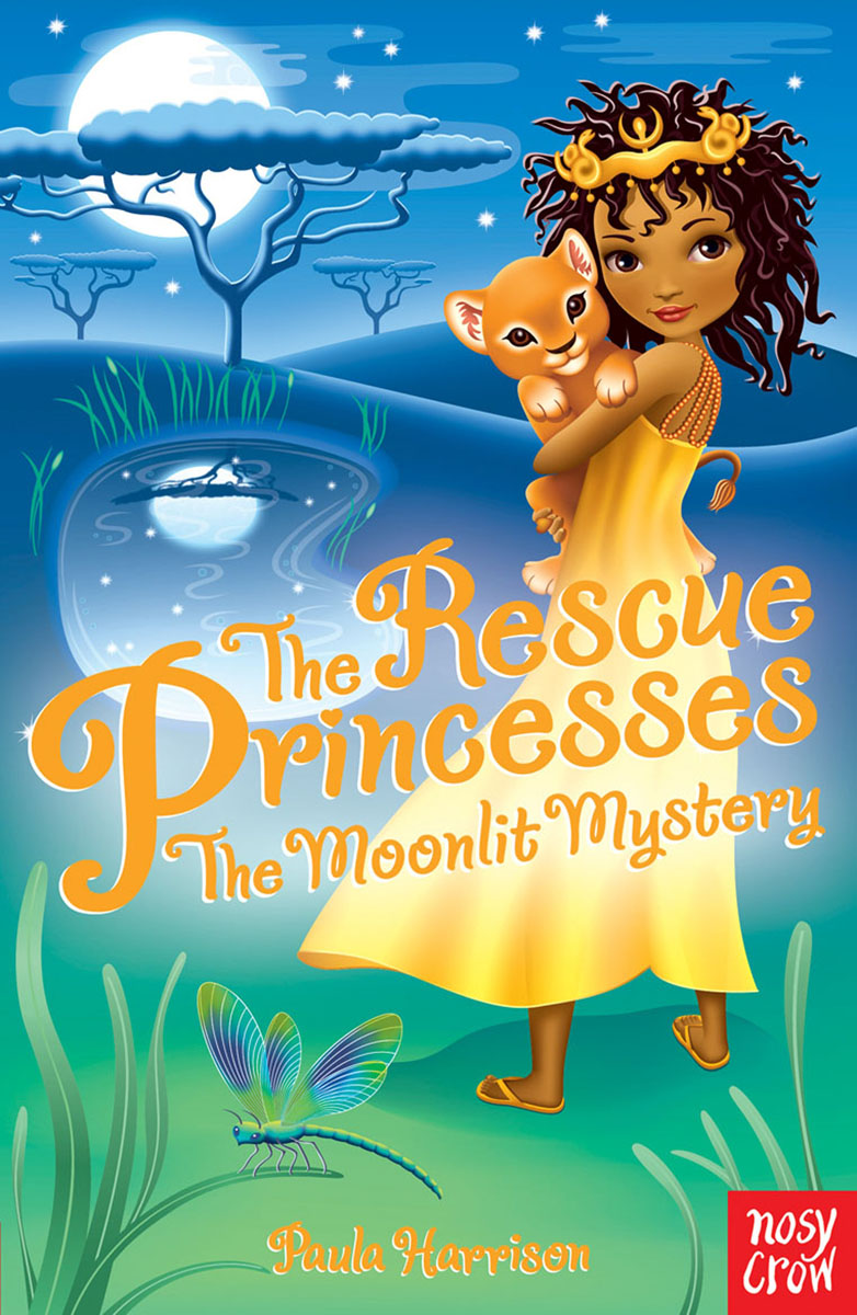 The Rescue Princesses: The Moonlit Mystery the egyptian princesses