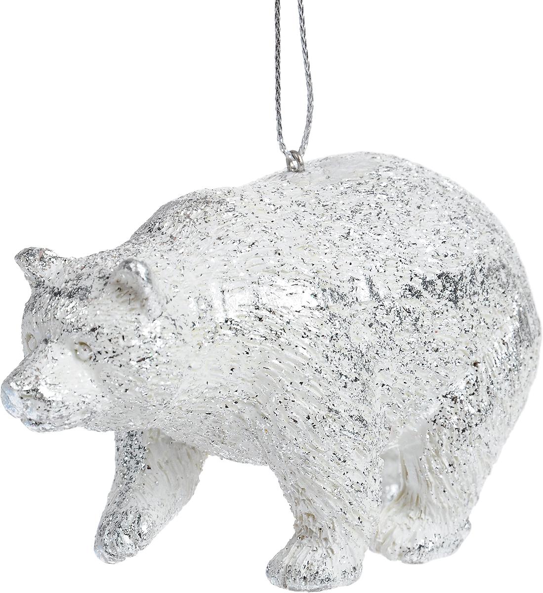 Украшение для интерьера новогоднее Erich Krause Обитатель севера. Медведь, 10 см41177_медведьУкрашение в виде медведя Erich Krause Обитатель севера. Медведь изготовлено из твердого и качественного полирезина. Приятная на ощупь, игрушка станет замечательным подарком, а также отличным решением для декора праздничного интерьера. Украшение можно подвесить при помощи петельки. 10 x 4,5 x 5 см.