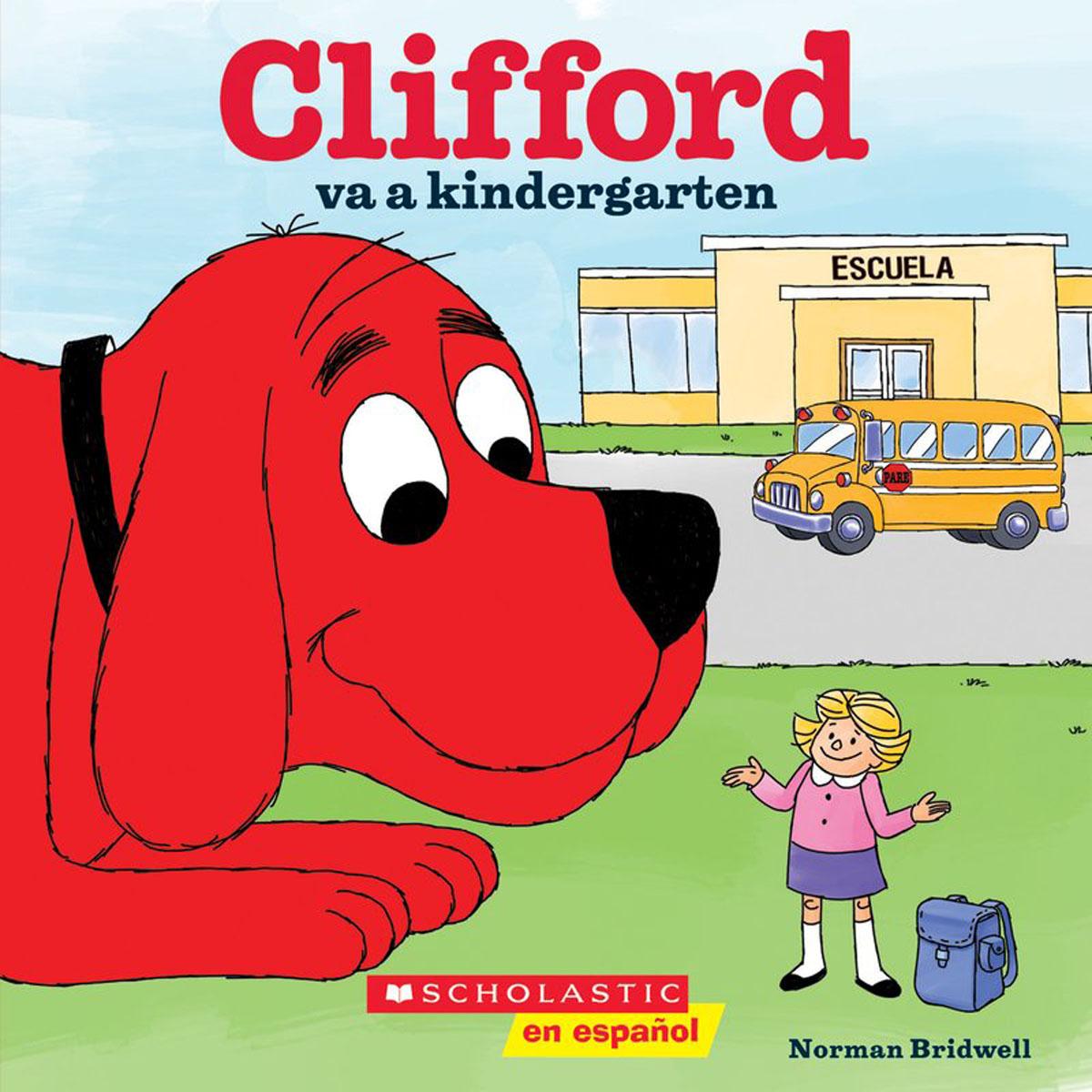 Clifford va a kindergarten maestra