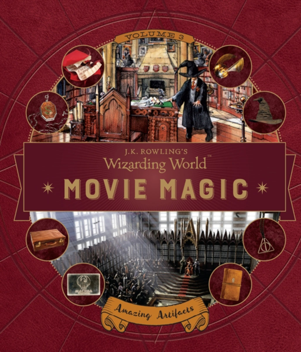 J. K. Rowling's Wizarding World: Movie Magic Volume Three: Amazing Artifacts fantastic cities a coloring book of amazing places real and imagined