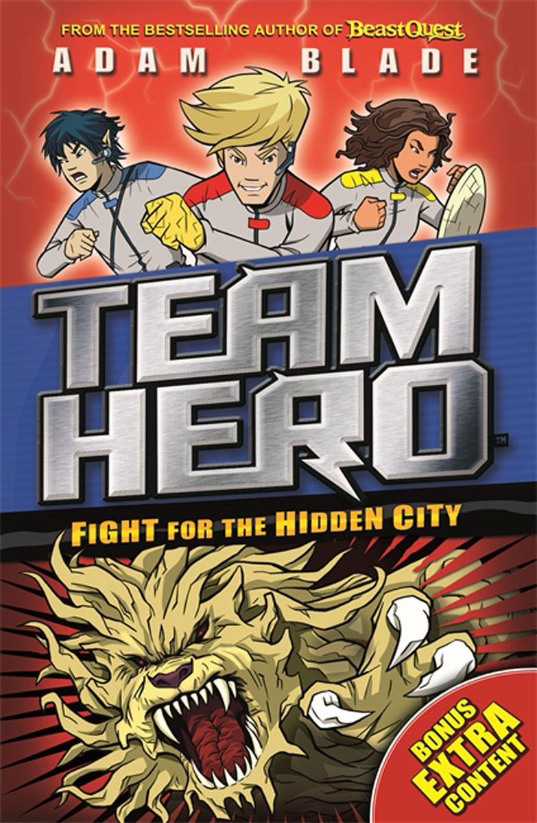 Team Hero: Fight for the Hidden City peter powers and the itchy insect invasion