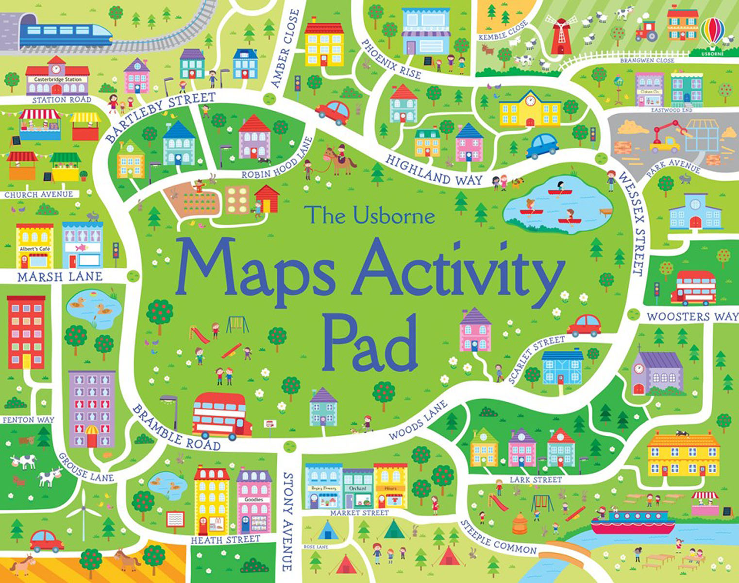 Maps Activity Pad jack london jerry of the islands
