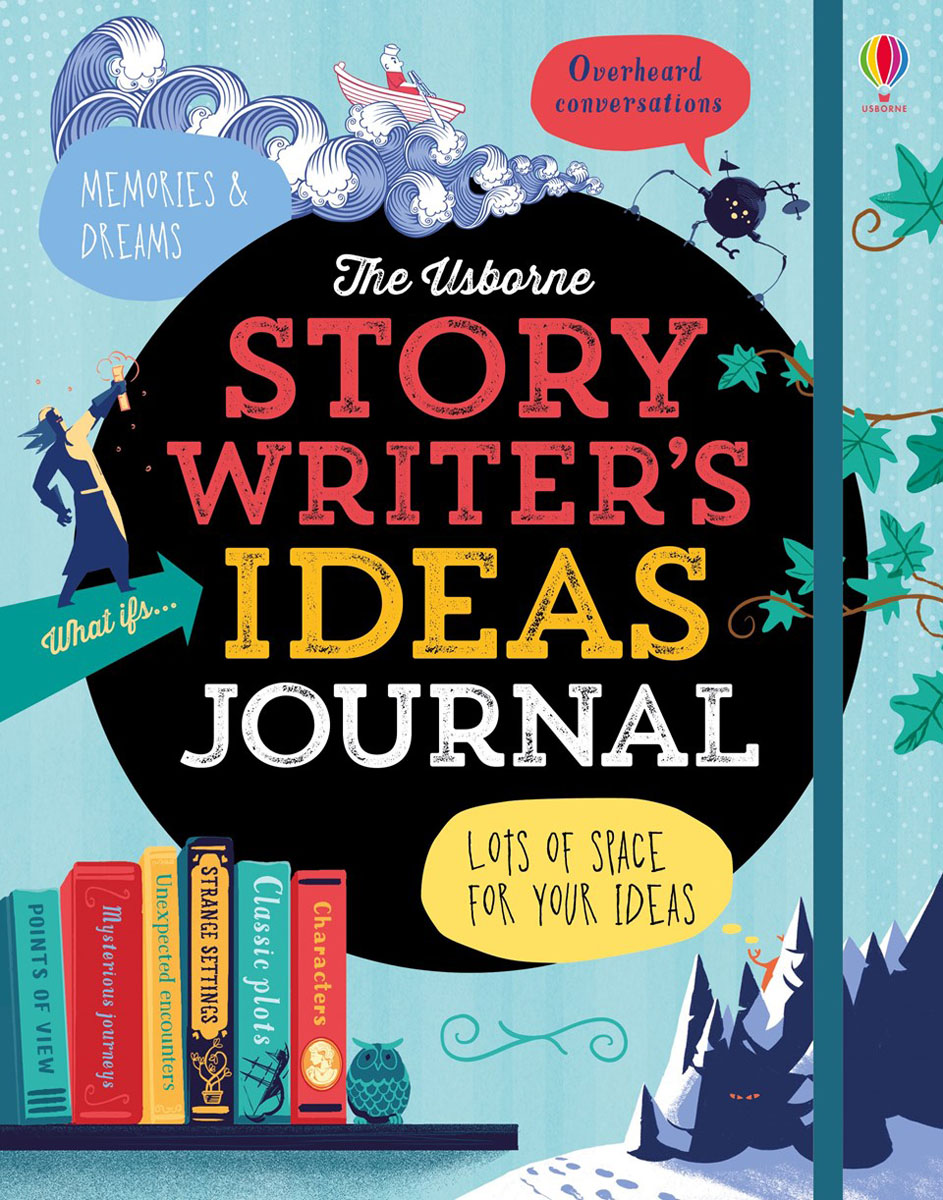 Story Writer's Ideas Journal write your own adventure stories