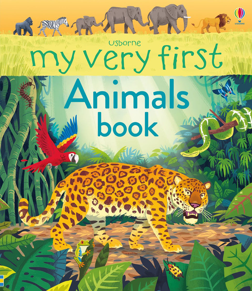 My Very First Animals Book my first book about food