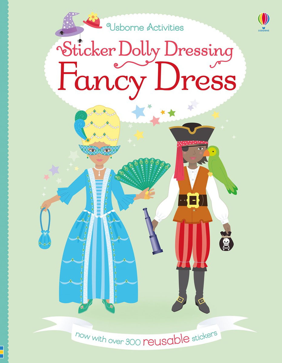 Sticker Dolly Dressing Fancy Dress bugs sticker book 400 reusable stickers