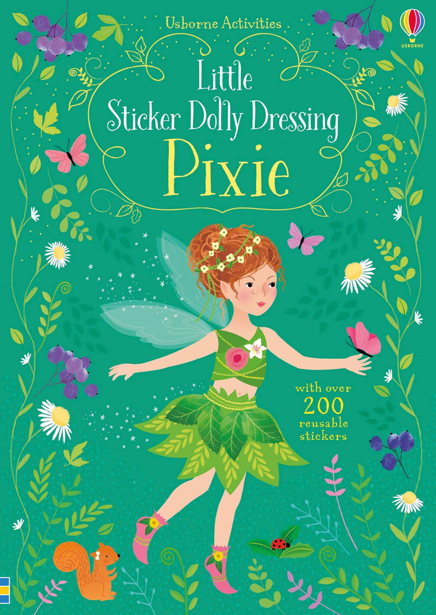 Little Sticker Dolly Dressing Pixie little children s knights and castles activity book