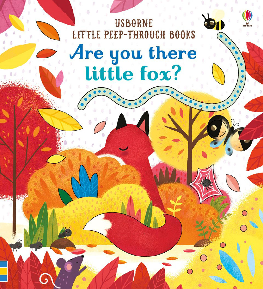 Are you there Little Fox? little owl says goodnight slide and seek board bk
