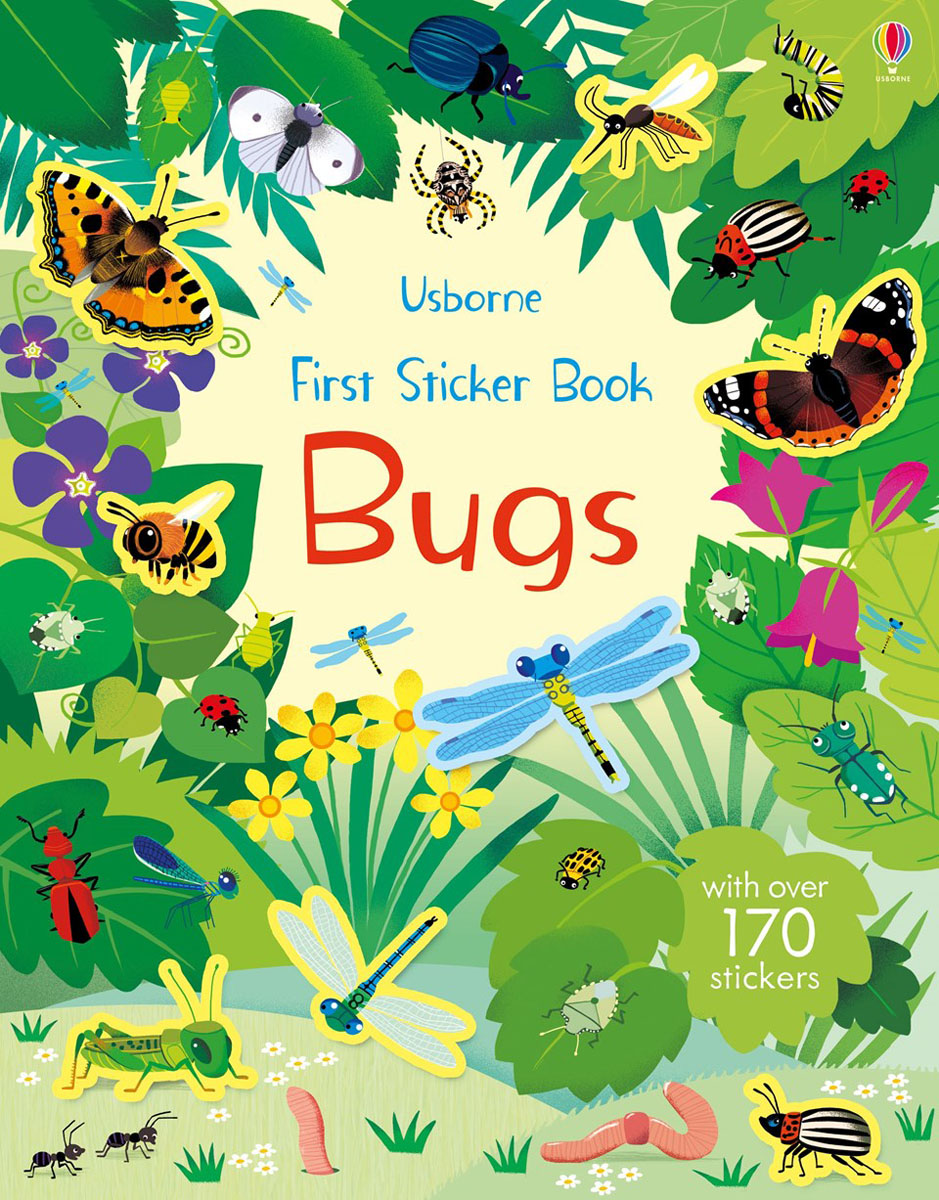 First Sticker Book Bugs butterflies in the barley
