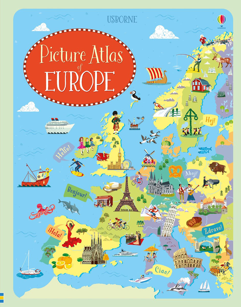 Picture Atlas of Europe atlas of the world picture book