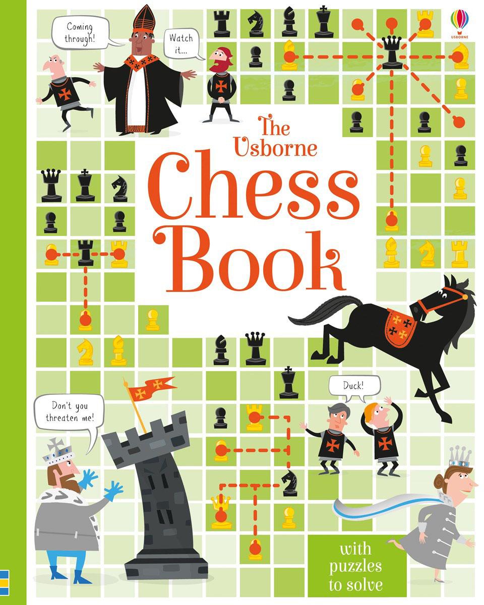Usborne Chess Book brain sharpening memory puzzles