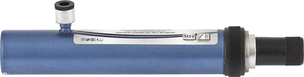 Цилиндр гидравлический Stels, для 10-тонной растяжки51360Гидравлический стяжной цилиндр Stels является запасной или дополнительный частью для гидравлическихрихтовочных наборов. Предназначен для проведения рихтовочных и кузовных работ, таких как восстановление геометрии больших участков и целых конструкций: проемовдверей, окон, капота и багажника.Характеристики:Давление при максимальной нагрузке: 62 МПаМаксимальное усилие: 10 тХод штока: 150 мм.