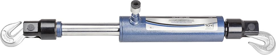 Цилиндр гидравлический Stels, стяжной, усиленный с крюками, 5 т51361Гидравлический стяжной цилиндр Stels является запасной или дополнительный частью для гидравлическихрихтовочных наборов. Предназначен для проведения рихтовочных и кузовных работ, таких как восстановление геометрии больших участков и целых конструкций: проемовдверей, окон, капота и багажника.Характеристики:Давление при максимальной нагрузке: 55 МПа Максимальное усилие: 5 т Ход штока: 130 мм.