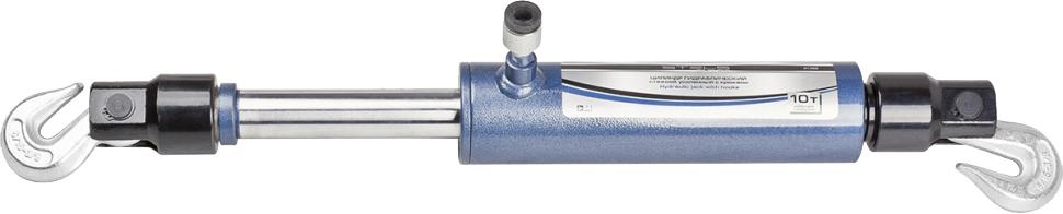 Цилиндр гидравлический Stels, стяжной, усиленный с крюками, 10 т51362Цилиндр гидравлический стяжной является запасной или дополнительный частью для гидравлическихрихтовочных наборов. Предназначен для проведения рихтовочных и кузовных работ,таких как восстановление геометрии больших участков и целых конструкций: проемов дверей, окон, капота и багажника.