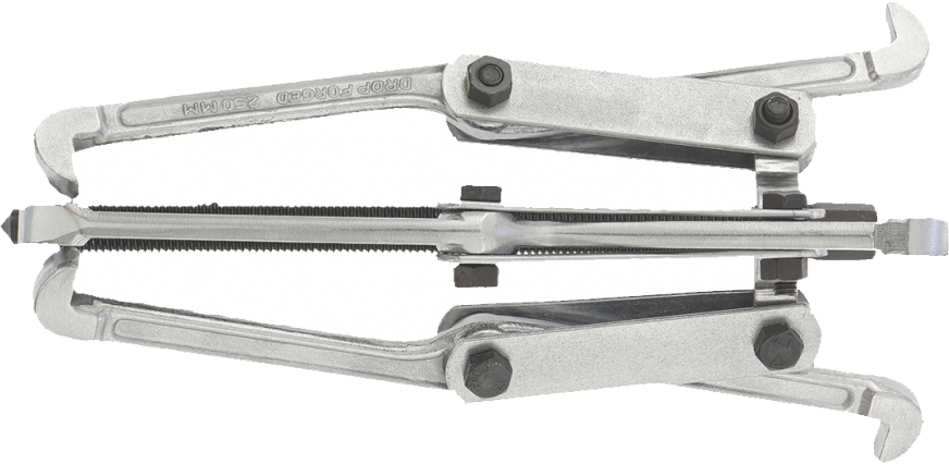Съемник механический Sparta, тройной, 250 мм525415Съемник универсальный тройной является как внешним, так и внутренним. Оснащен тремя поворотными двухсторонними захватами. Силовой болт инструмента имеет шестигранный наконечник. Упоры на обоих концах захватов съемника имеют одинаковую ширину, а вылет захватов при их перестановке меняется приблизительно в полтора раза.
